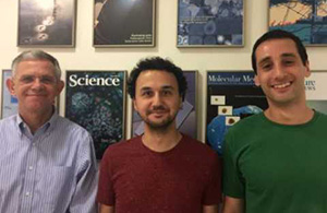 Prof. Benvenisty with his graduate students